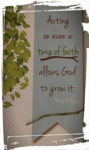 Twig of Faith