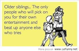 Older siblings