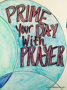 Prime Your Day with Prayer