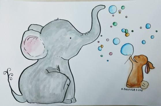 bubble-elephant