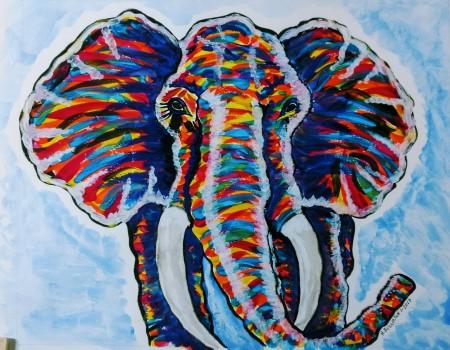 front-elephant